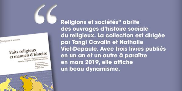 Présentation de la collection « Religions et sociétés »
